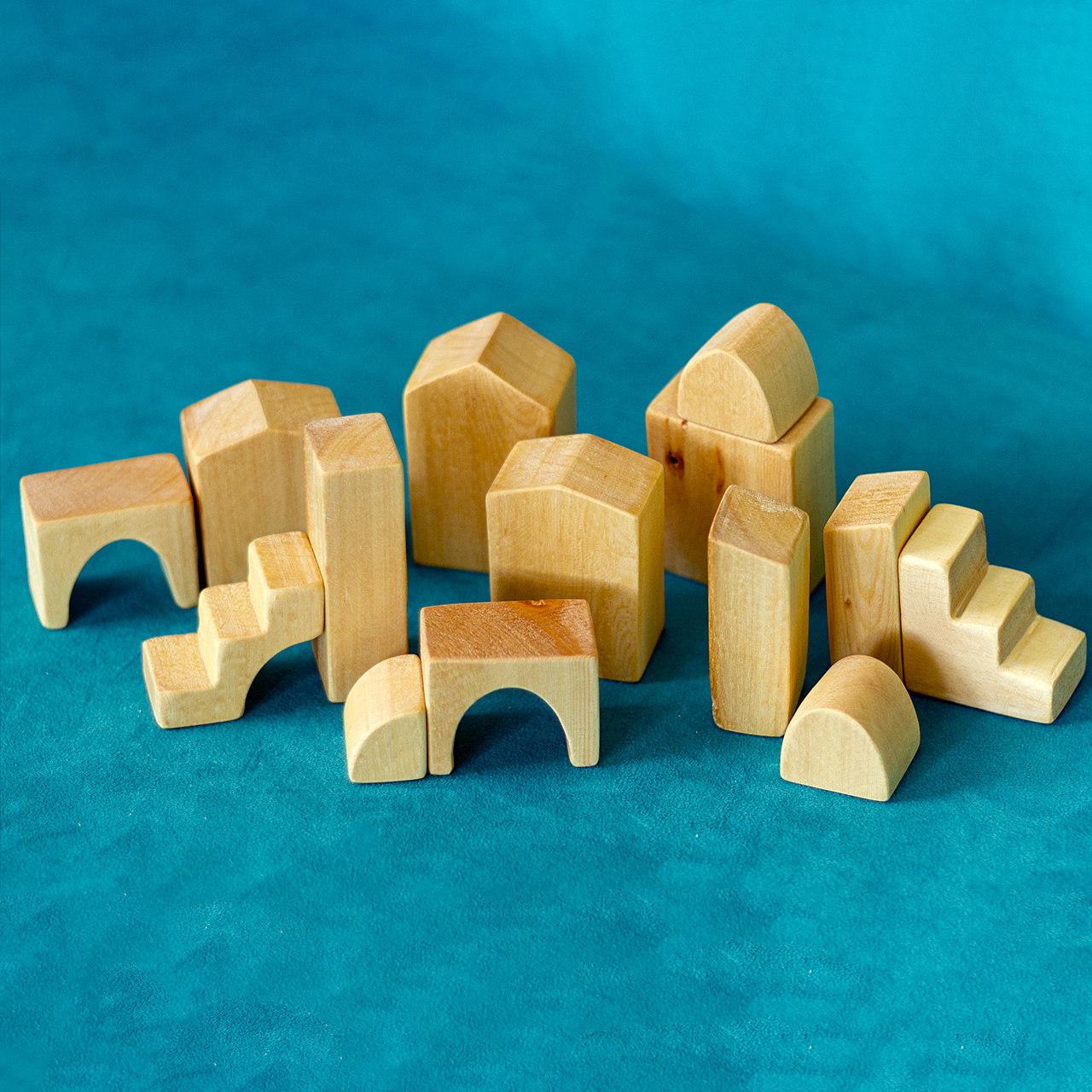 خرید                      اسباب بازی چوبی مدل آرچی کد 01 مجموعه ۱۴ عددی