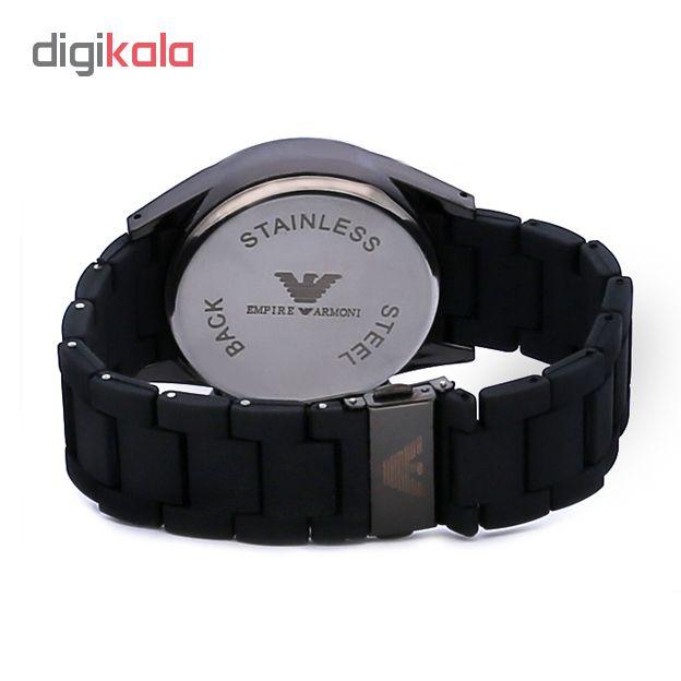 کد تخفیف                                      ساعت مچی عقربه ای مردانه مدل EMA 422 - ME                     غیر اصل