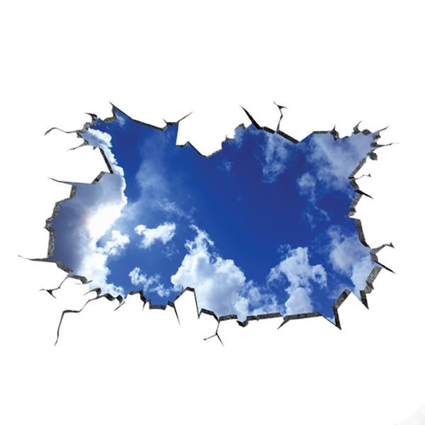 استیکر سه بعدی سقف ژیوار طرح آسمان مجازی