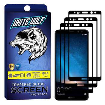 محافظ صفحه نمایش وایت ولف مدل WGF مناسب برای گوشی موبایل هوآوی Mate 10 Lite  بسته 3 عددی