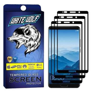 محافظ صفحه نمایش وایت ولف مدل WGF مناسب برای گوشی موبایل هوآوی Mate 10   بسته 3 عددی