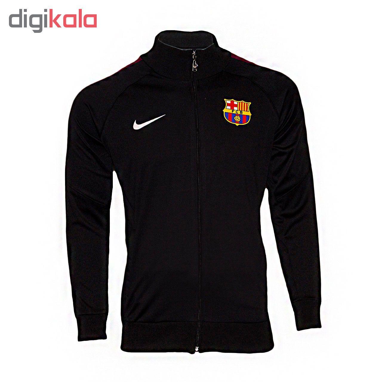 سویشرت ورزشی پسرانه طرح بارسلونا کد 03 main 1 2