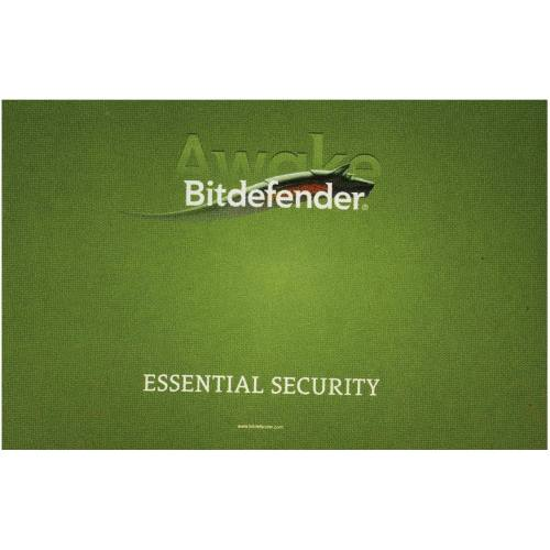 کارت کد فعال سازی نرم افزار امنیتی بیت دیفندر , 1 کاربر , 1 ساله