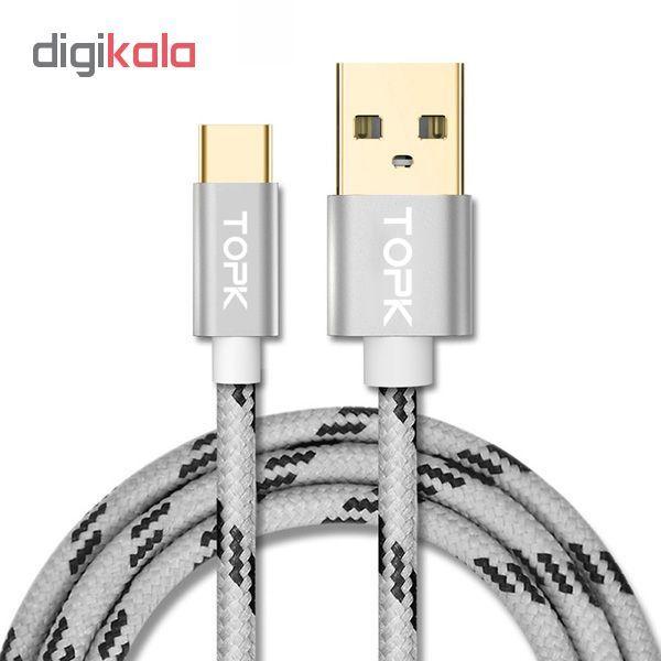 کابل تبدیل USB به USB-C تپک مدل AN09 طول 1 متر  main 1 13
