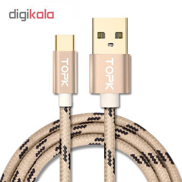 کابل تبدیل USB به USB-C تپک مدل AN09 طول 1 متر  main 1 15