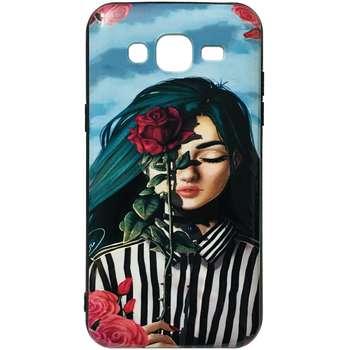 کاور طرح Rose کد 1372 مناسب برای گوشی موبایل سامسونگ Galaxy J5 / J500