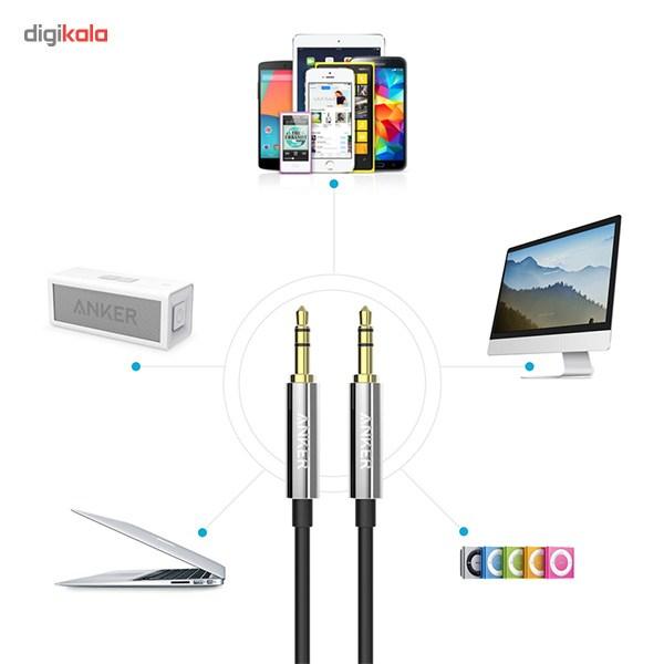 کابل انتقال صدا 3.5 میلی متری انکر مدل A7123 Premium به طول 1.2 متر