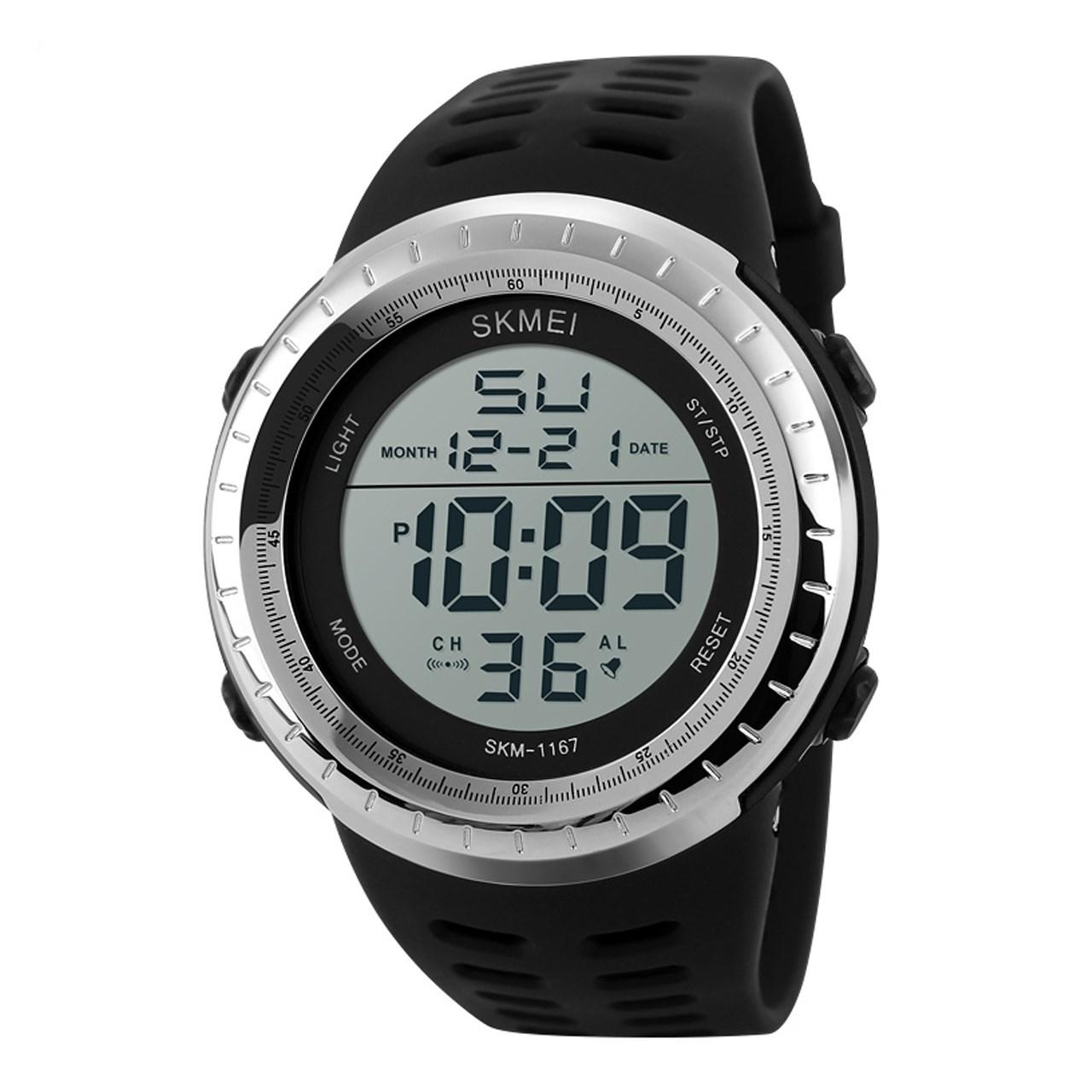 ساعت مچی دیجیتالی مردانه اسکمی مدل 1167