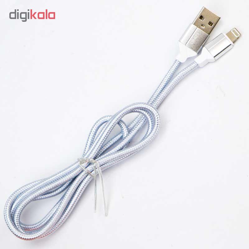 کابل تبدیل USB به لایتنینگ الدینیو مدل LS391 طول 1 متر