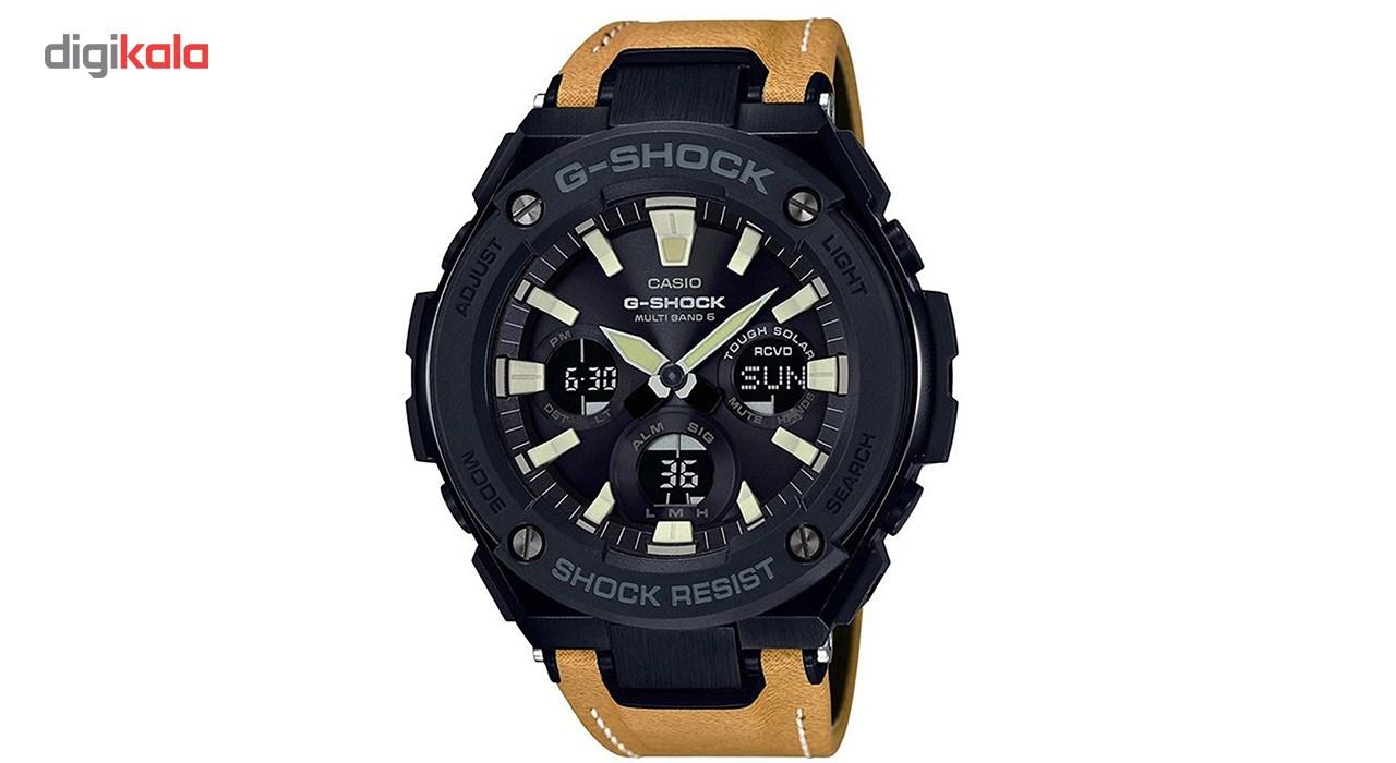 خرید ساعت مچی عقربه ای مردانه کاسیو جی شاک مدل GST-S120L-1BDR