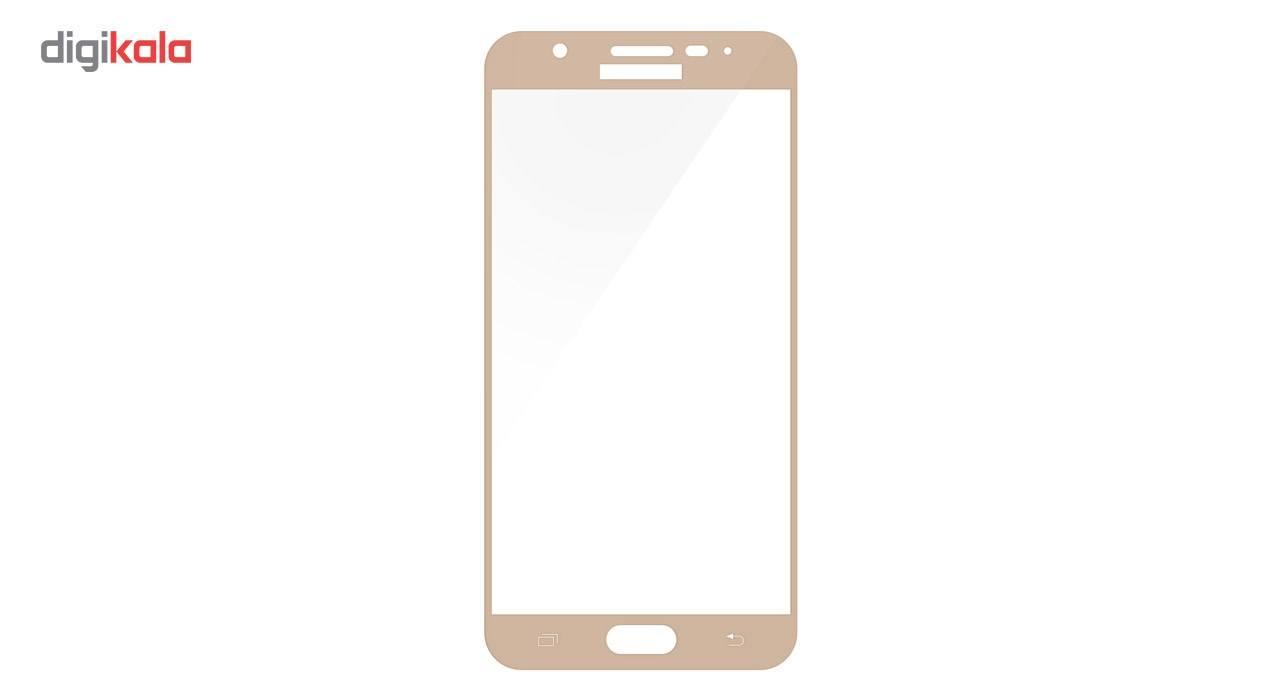 محافظ صفحه نمایش تمپرد مدل فول چسب مناسب برای گوشی موبایل سامسونگ Galaxy J5 Prime main 1 4