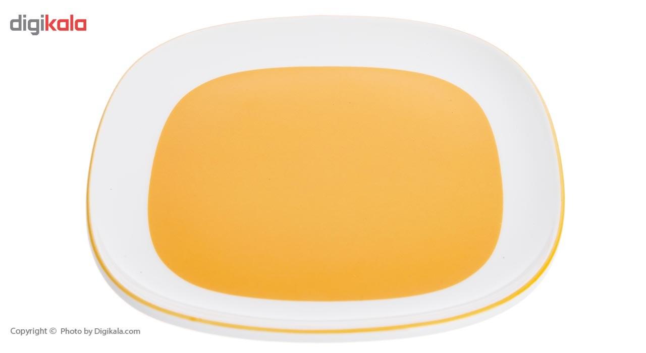 سرویس صبحانه خوری 8 پارچه چینی زرین ایران سری هما مدل Tir 2 درجه عالی
