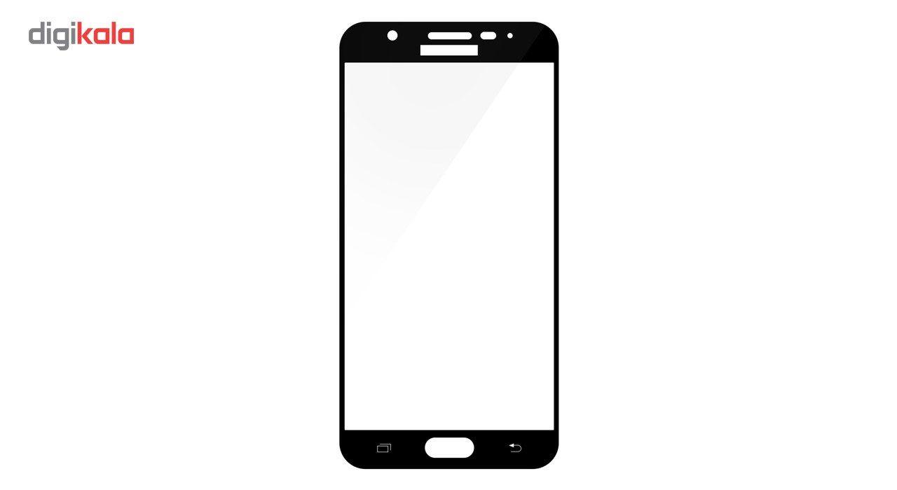 محافظ صفحه نمایش تمپرد مدل فول چسب مناسب برای گوشی موبایل سامسونگ Galaxy J5 Prime main 1 5