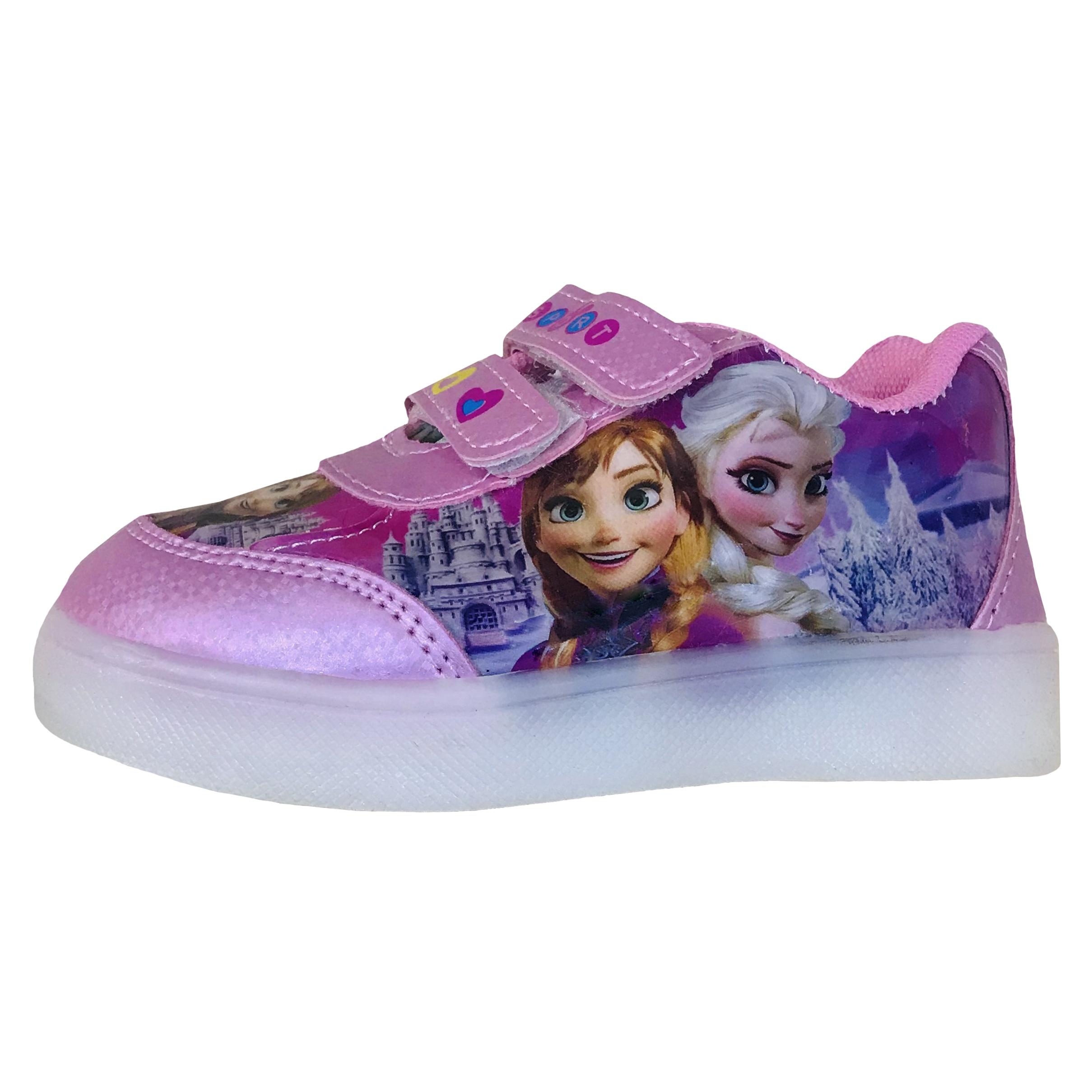 کفش  راحتی دخترانه طرح السا کد e2030