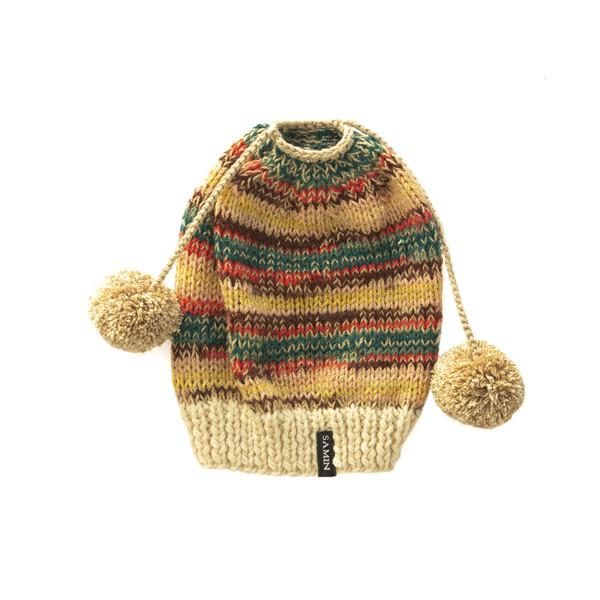کلاه بافتنی دخترانه ثمین کد 205