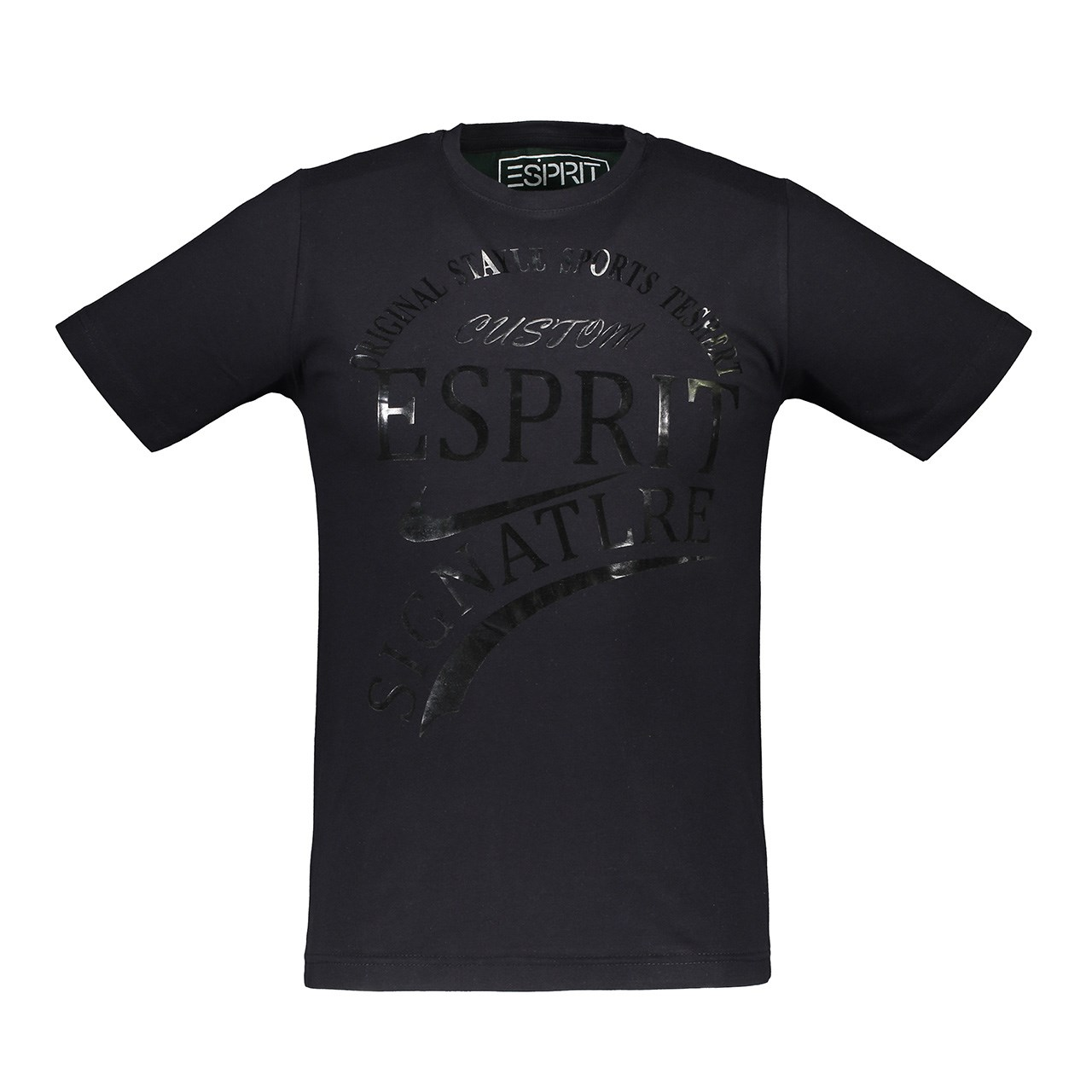 تی شرت آستین کوتاه مردانه آترین مدل Black0