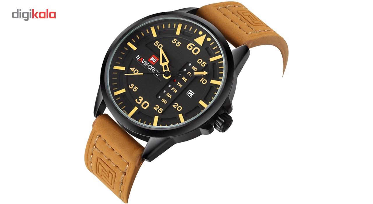 ساعت مچی عقربه ای مردانه نیوی فورس مدل NF9074M/BRBY