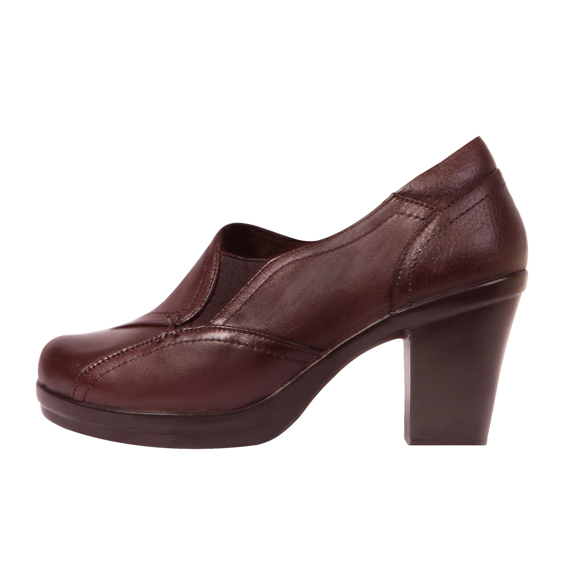 خرید                      کفش زنانه روشن مدل گلشن کد 02