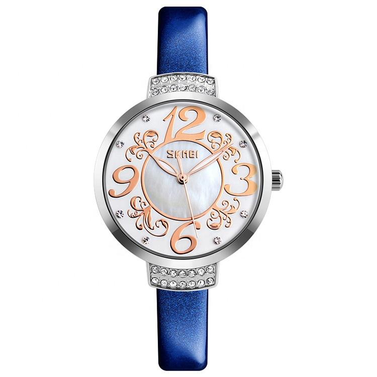 ساعت مچی عقربه ای زنانه اسکمی مدل 9160BL