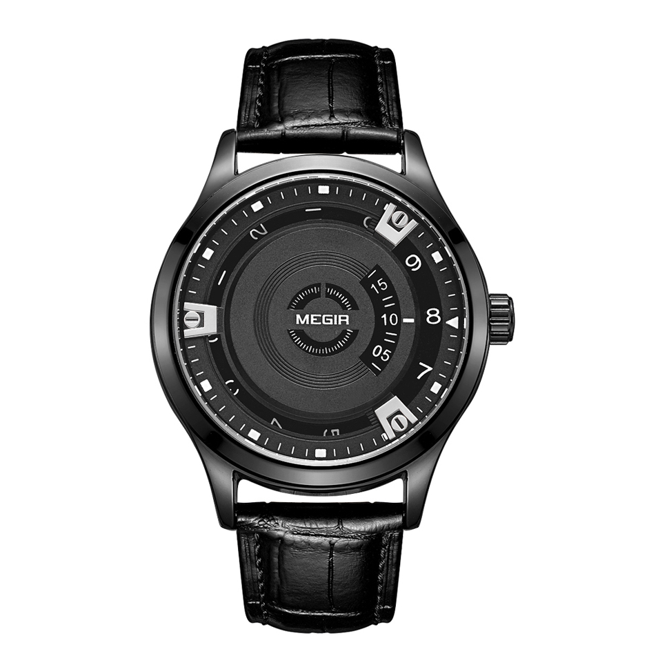 کد تخفیف                                      ساعت مچی عقربه ای مردانه مگیر مدل ML1067GBK-1