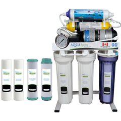 دستگاه تصفیه کننده آب خانگی آکوآ اسپرینگ مدل RO-S151 به همراه فیلتر بسته 4 عددی