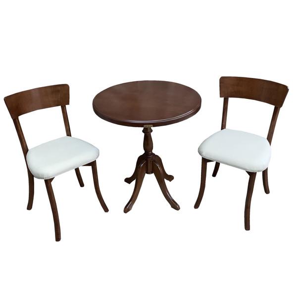 میز و صندلی ناهار خوری اسپرسان چوب کد Sm69