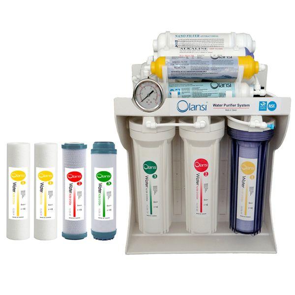 دستگاه تصفیه کننده آب اولانسی مدل RO-A930 به همراه فیلتر بسته 4 عددی