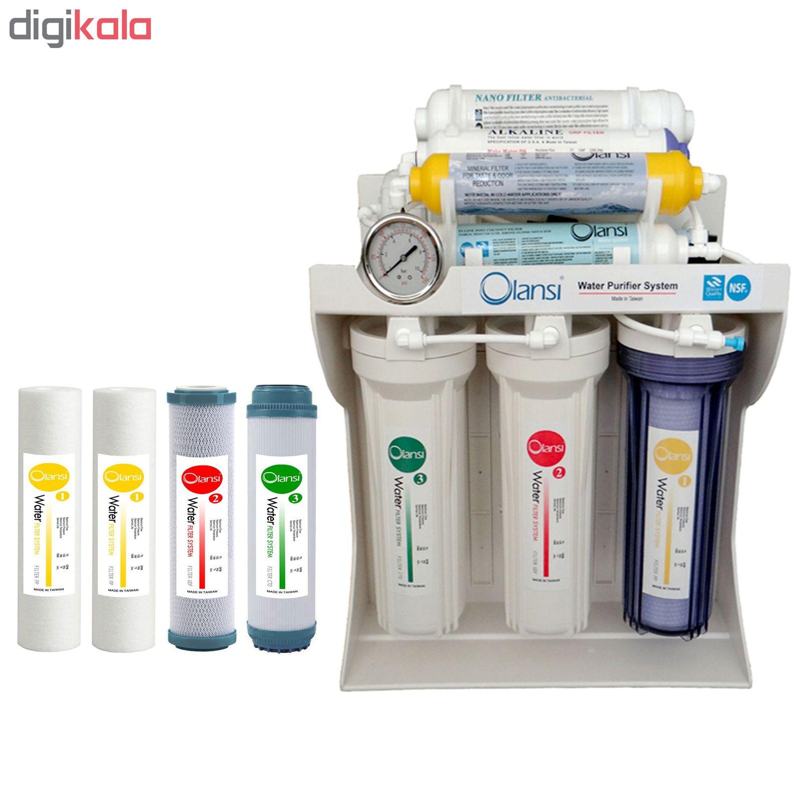 دستگاه تصفیه کننده آب اولانسی مدل RO-A930 به همراه فیلتر بسته 4 عددی main 1 1