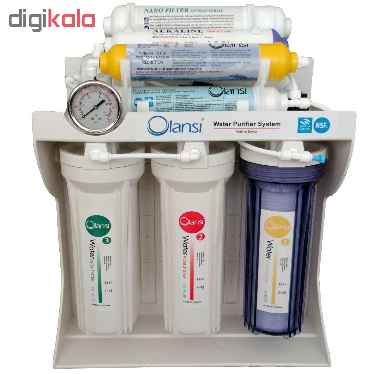 دستگاه تصفیه کننده آب اولانسی مدل RO-A930 به همراه فیلتر بسته 4 عددی main 1 3