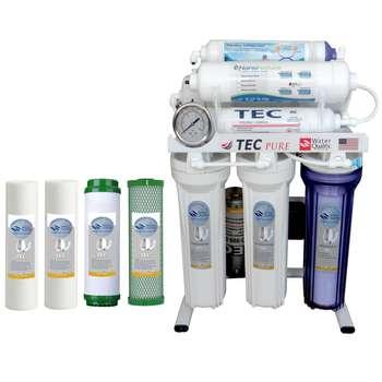 دستگاه تصفیه کننده آب تک مدل RO-T8-NATURE3400 به همراه فیلتر بسته 4 عددی