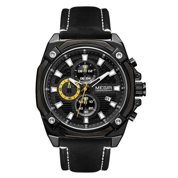 ساعت مچی عقربه ای مردانه مگیر مدل   ML2054G-BK-1