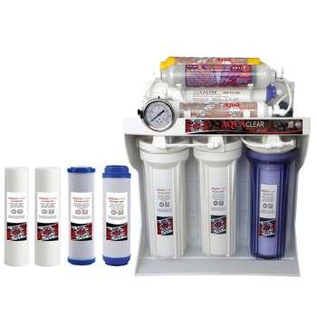 دستگاه تصفیه کننده آب آکوآ کلر مدل RO-C172 به همراه فیلتر بسته 4 عددی