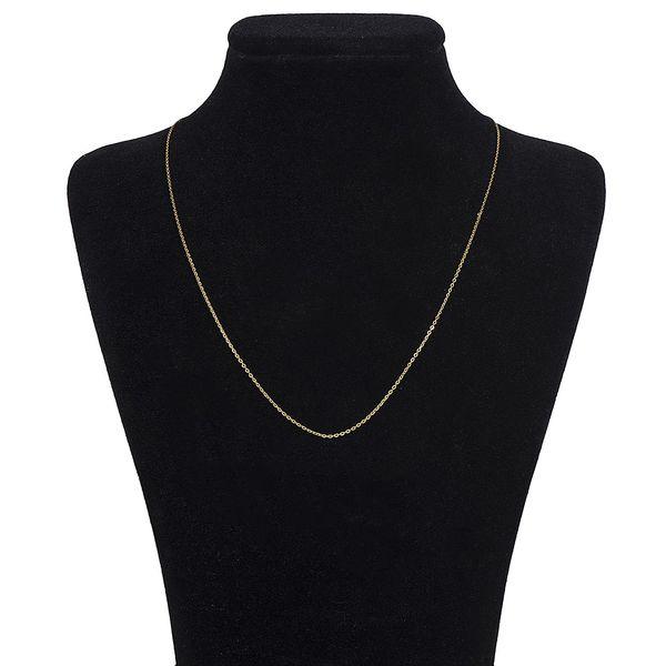 زنجیر طلا 18 عیار ماهک مدل MM0353 - مایا ماهک