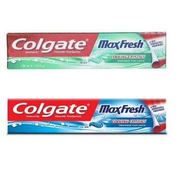 خمیر دندان کلگیت مدل Max Fresh مجموعه 2 عددی حجم 100 میلی لیتر