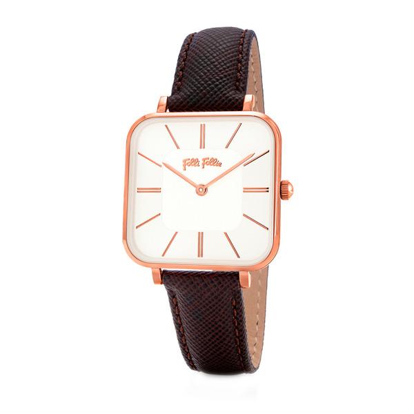 ساعت مچی عقربه ای زنانه فولی فولیه مدل WF18R007SPW-BR (بدون جعبه اورجینال)