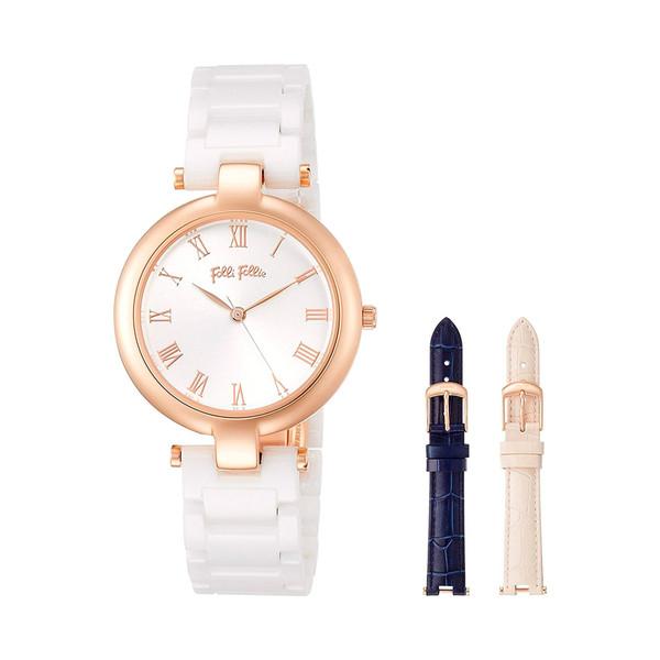 ساعت مچی عقربه ای زنانه فولی فولیه مدل WF16R030BPZ-XX