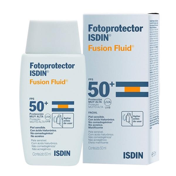 کرم ضد آفتاب ایزدین مدل Fusion Fluid حجم 50 میلی لیتر