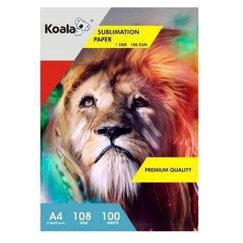 کاغذ سابلیمیشن کوالا مدل SA108 سایز A4 بسته 100 عددی