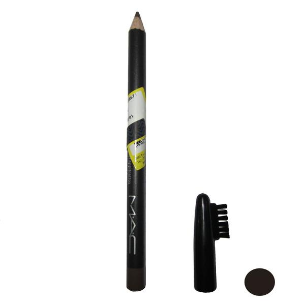 مداد ابرو مک مدل blac شماره 01