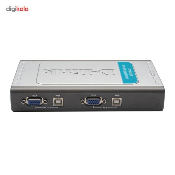 سوییچ 4 پورت USB KVM دی-لینک مدل DKVM-4U
