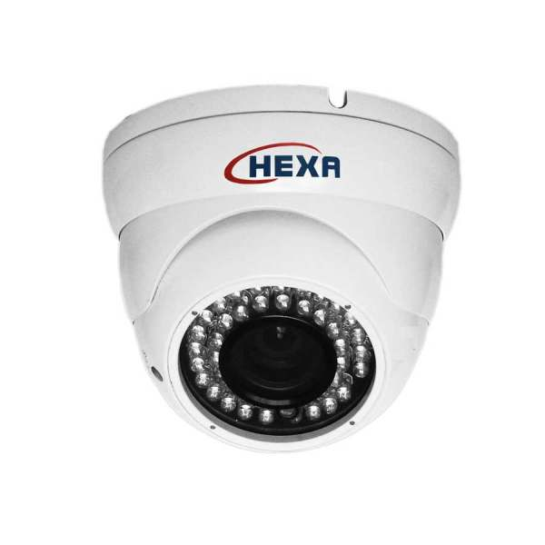دوربین مداربسته تحت شبکه آی پی دام سقفی مارک هگزا مدل 1201XM