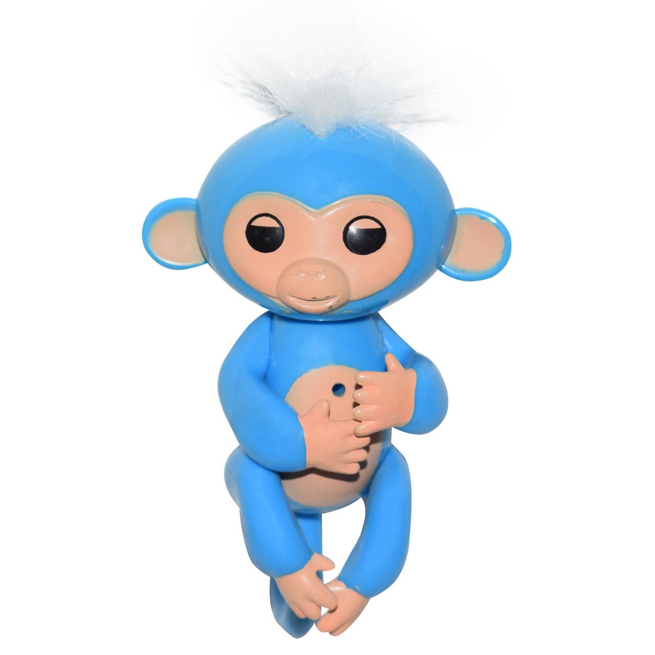 خرید                     عروسک طرح میمون انگشتی مدل FM ارتفاع 12 سانتی متر