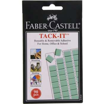چسب خمیری فابر کاستل مدل Tack Ii Reusable and Removable بسته 90 عددی