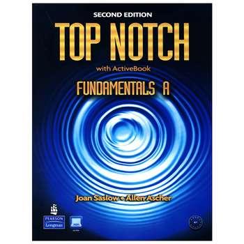 کتاب Top notch Fundamentals A 2nd Edition اثر Joan Saslow And Allen Ascher انتشارات Pearson