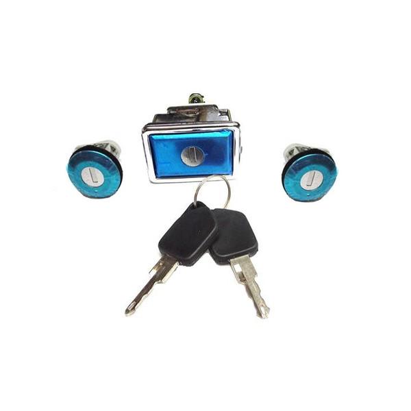 سوئیچ و قفل در و صندوق خودرو نصیری مدل 4889 مناسب برای پژو 405 مجموعه 5 عددی