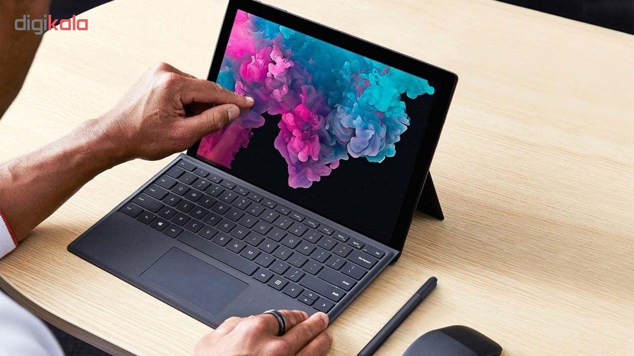 تبلت مایکروسافت مدل Surface Pro 6 - B به همراه کیبورد Black Type Cover  و قلم main 1 7