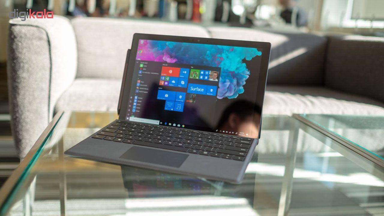 تبلت مایکروسافت مدل Surface Pro 6 - B به همراه کیبورد Black Type Cover  و قلم main 1 8