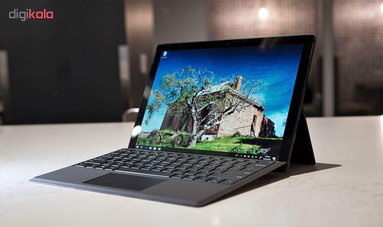 تبلت مایکروسافت مدل Surface Pro 6 - B به همراه کیبورد Black Type Cover  و قلم main 1 9