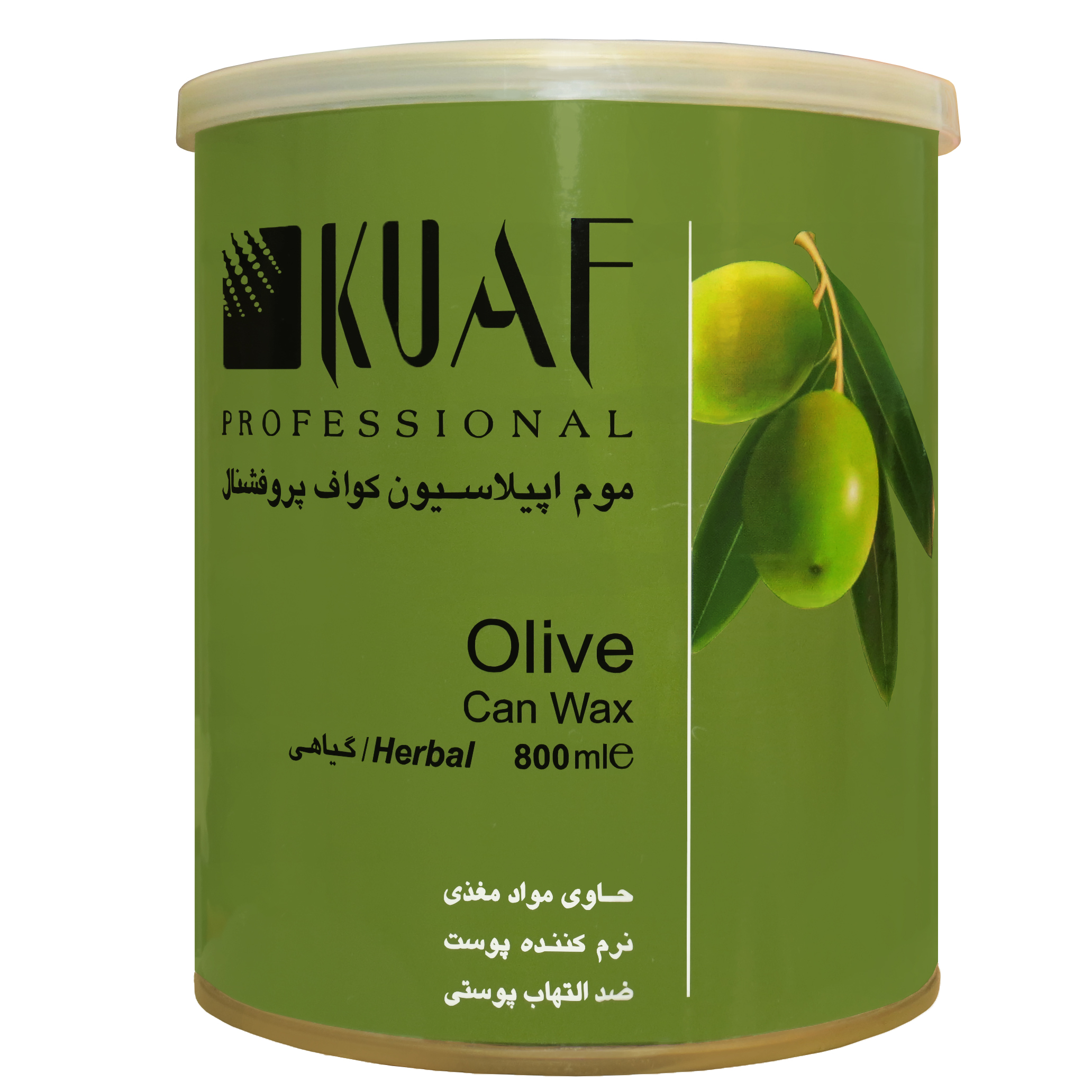 خرید                      موم موبر کواف مدل Olive حجم 800 میلی لیتر              ✅