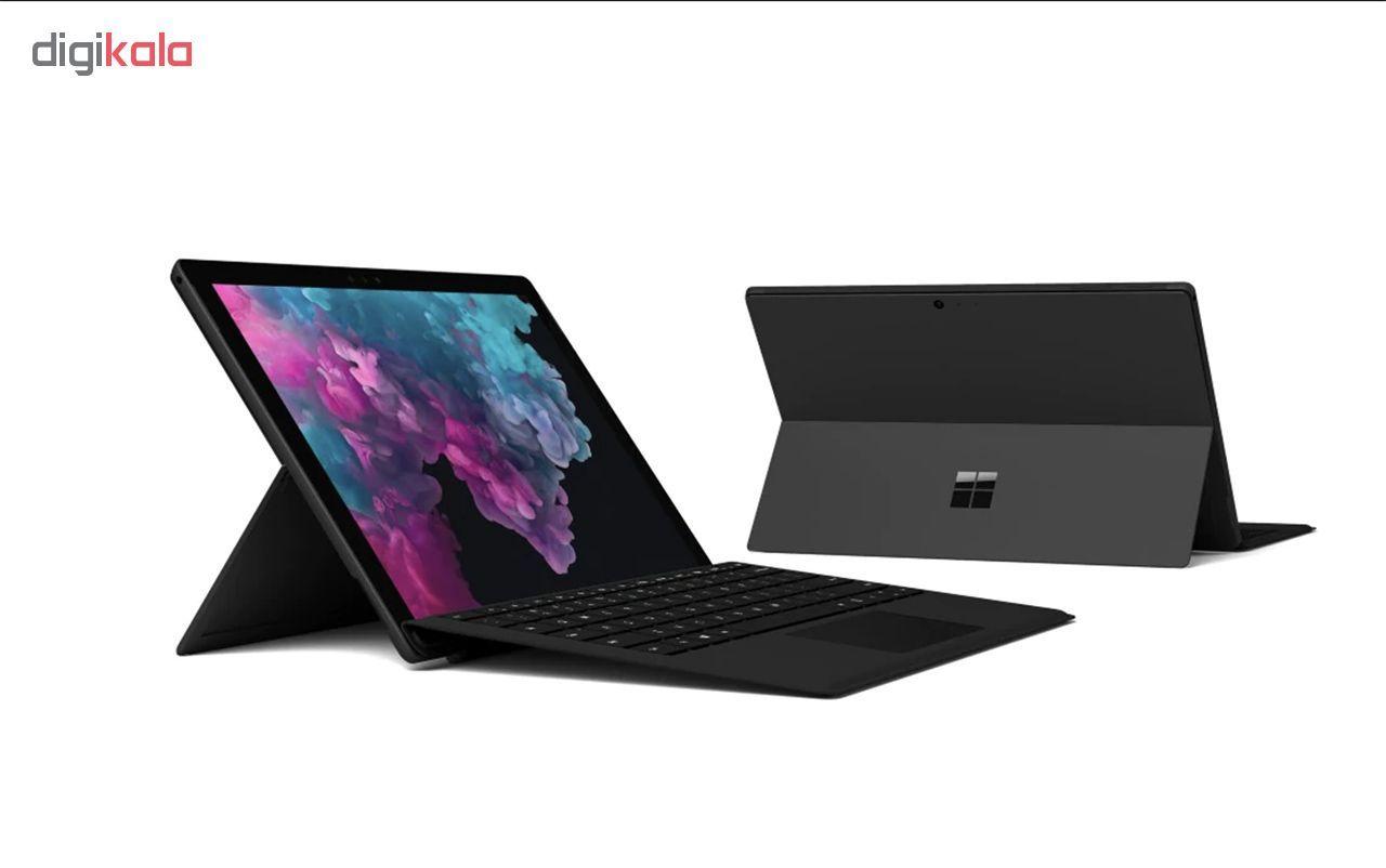 تبلت مایکروسافت مدل Surface Pro 6 - B به همراه کیبورد Black Type Cover  و قلم main 1 12